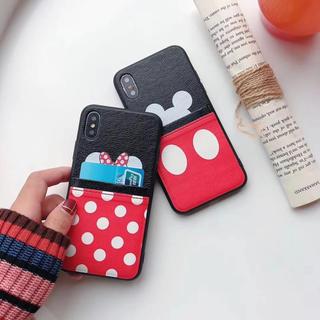 ディズニー(Disney)の高品質‼️ディズニー (ポケット付き) iPhoneケース(iPhoneケース)