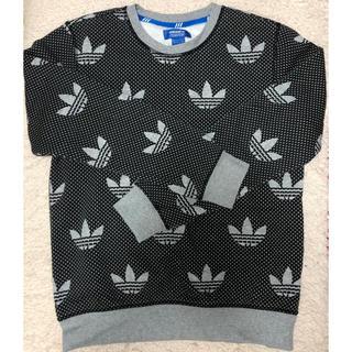 アディダス(adidas)のadidas original 裏起毛 スウェット BLACK メンズ(スウェット)