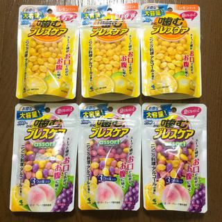 コバヤシセイヤク(小林製薬)の噛むブレスケア大容量100粒×6セット  レモン & レモン・ピーチ・グレープ (口臭防止/エチケット用品)