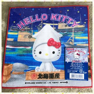 HELLO KITTY ハローキティ ご当地プチタオル 北海道限定 イカキティ