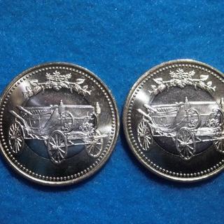 天皇陛下御在位30年 五百円 500円 記念硬貨2枚セット(貨幣)