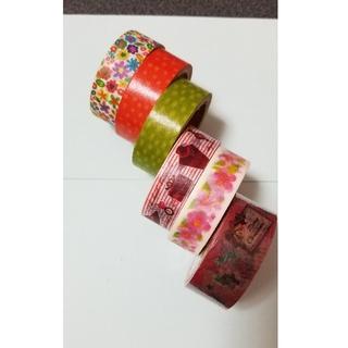 売りつくし価格!!マスキングテープ6本セット!!(テープ/マスキングテープ)