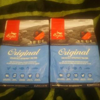 オリジンズ(ORIGINS)のドッグフード オリジン 正規品 2キロ2袋 + サンプル50g 3袋(ペットフード)