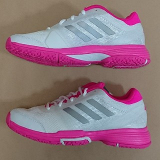 アディダス(adidas)のテニスS 25cm アディダス BARRICADE CLUB W OC(シューズ)