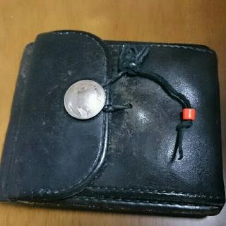 ゴローズ(goro's)のgoro's 二つ折り財布 黒(折り財布)