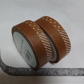 エムティー(mt)のmt マスキングテープ ドット×ストライプ 2点(テープ/マスキングテープ)