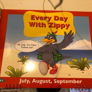 ディズニー(Disney)のEvery Day With Zippy ディズニー英語 カレンダー(知育玩具)