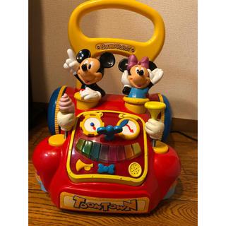 ディズニー(Disney)の★アイリス様専用★ミッキー ミニー 手押し車(手押し車/カタカタ)