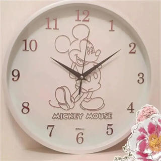 Disney - 【新品】ミッキーマウス 壁掛け時計 31cm
