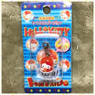 HELLO KITTY ファスナーマスコット 北海道限定いくら丼バージョン