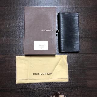ルイヴィトン(LOUIS VUITTON)のルイヴィトン 長財布 財布 エピ(長財布)