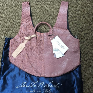 レイジースーザン(LAZY SUSAN)のAnita Bilardi イタリア製バッグ LAZY SUSAN 新品 (ハンドバッグ)