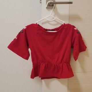 アズールバイマウジー(AZUL by moussy)のAZUL バースデイコラボ 刺繍チュニック(Tシャツ/カットソー)