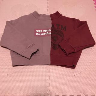 スナイデル(snidel)のsnidel girl トレーナー(Tシャツ/カットソー)