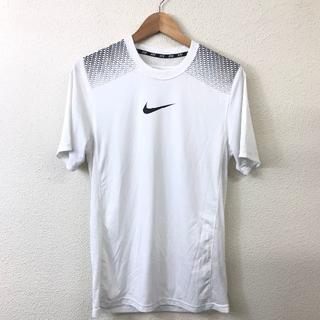 アディダス(adidas)の美品 NIKE ナイキ スポーツ ウェア 白 ホワイト M(Tシャツ/カットソー(半袖/袖なし))