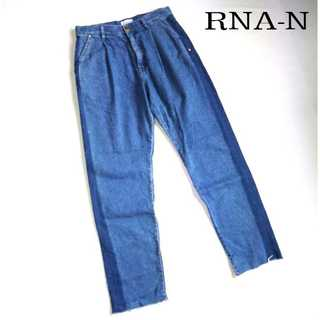 アールエヌエーエヌ(RNA-N)のRNA-N★リメイク風テーパードジーンズ S サイドライン セミワイド 17SS(デニム/ジーンズ)