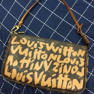 ルイヴィトン(LOUIS VUITTON)のルイヴィトン☆グラフィティ☆ポーチ☆美品☆(ポーチ)