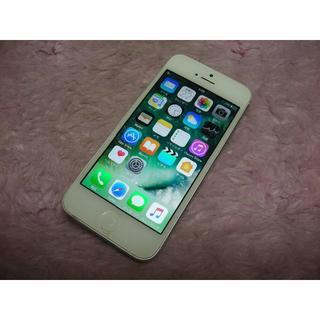 アップル(Apple)の≪訳あり≫iPhone5 32GB au No1936 おまけ付き(スマートフォン本体)