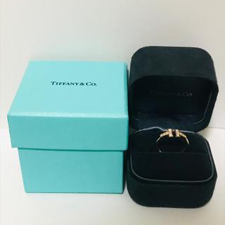 ティファニー(Tiffany & Co.)のTIFFANY&Co. ティファニー Tワイヤー リング 指輪 K18 10号(リング(指輪))