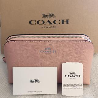 コーチ(COACH)の新品 大人気カラー コーチ COACH メイクポーチ ピンク(ポーチ)