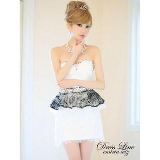 エンジェルアール(AngelR)のドレス  高級ドレス  新品タグ付き  Sサイズ(ミニドレス)
