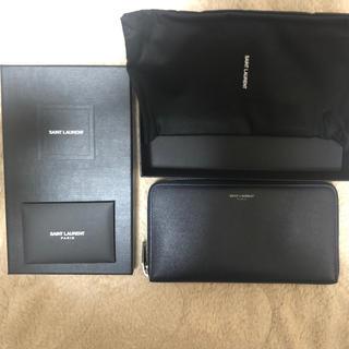 サンローラン(Saint Laurent)の超美品 サンローランパリ ラウンドファスナー長財布 (長財布)