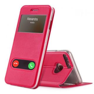 iPhone7plus 8plus ケース マゼンダ