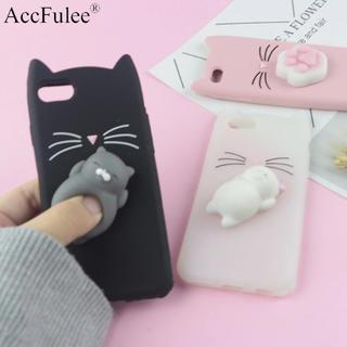 携帯カバー  猫 ぷにぷに