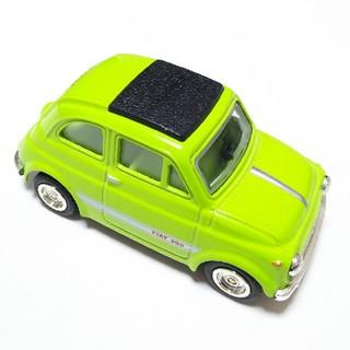 FIAT500 ミニカー グリーン(ミニカー)