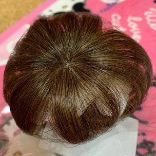 前髪ウィッグ 3D構造つむじ付きシースルーバング(前髪ウィッグ)