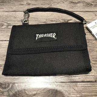 スラッシャー(THRASHER)の⭐️THRASHER/スラッシャー⭐️新品 2つ折財布 携帯用 スケーター(折り財布)