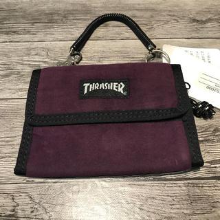 スラッシャー(THRASHER)の⭐️THRASHER/スラッシャー⭐️新品 2つ折り財布 パープル スケーター(折り財布)