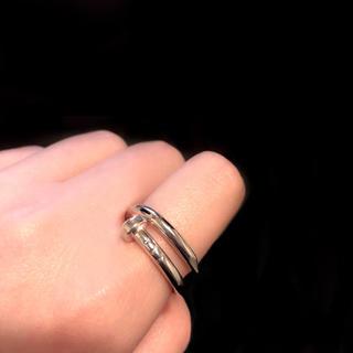 ♱ Vintage Silver Nail Ring(リング(指輪))