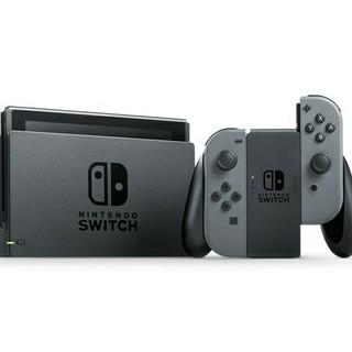 ニンテンドウ(任天堂)のニンテンドースイッチ グレー 新品未開封 Nintendo Switch(家庭用ゲーム本体)