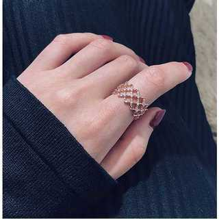 海外セレブ◆ダイヤモンドリング◆指輪(リング(指輪))