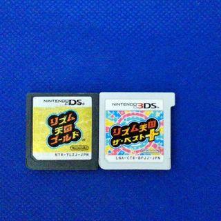 ニンテンドー3DS(ニンテンドー3DS)のリズム天国 2個セット(携帯用ゲームソフト)