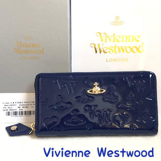 ヴィヴィアンウエストウッド(Vivienne Westwood)のヴィヴィアンウエストウッド 財布 正規品 新品 レディース ブルー エナメル(財布)