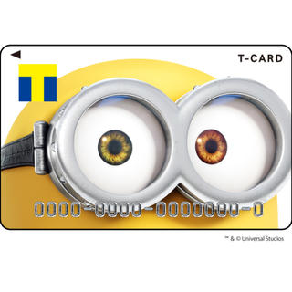 ミニオン(ミニオン)の大人気柄 Tカード(ミニオン ボブ イルミネーション デザイン)(カード)