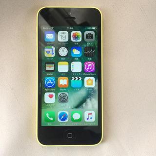 アップル(Apple)の②SoftBank解約済iphone5c  16GB バッテリー93%良品 (スマートフォン本体)