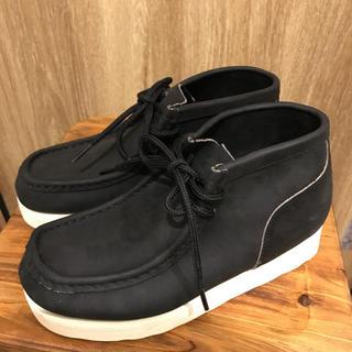 セダークレスト(CEDAR CREST)のセダークレスト 22.5センチブラックデザートブーツ 未使用新品(ブーツ)
