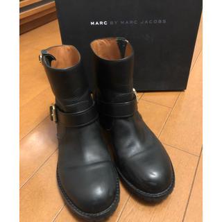 マークバイマークジェイコブス(MARC BY MARC JACOBS)の美品 マークバイマークジェイコブス ブーツ 22㎝(ブーツ)
