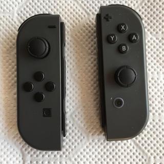 ニンテンドースイッチ(Nintendo Switch)のJoy-Conブラック(家庭用ゲーム本体)