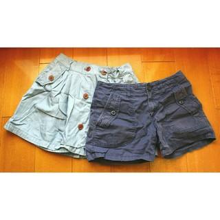 ジーユー(GU)のスカート ショートパンツ(ひざ丈スカート)