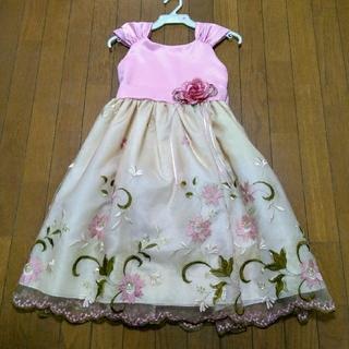 刺繍ドレス 140 発表会に(ドレス/フォーマル)