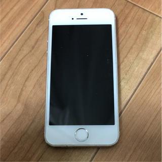 アップル(Apple)のiPhone 5s Silver 16 GB docomo(スマートフォン本体)