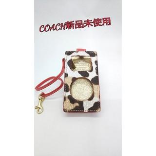 コーチ(COACH)のコーチ アイポッドケース(モバイルケース/カバー)