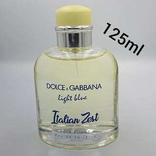 ドルチェアンドガッバーナ(DOLCE&GABBANA)のライトブルー プールオム イタリアンゼスト 125ml(香水(男性用))