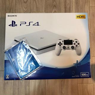 ソニー(SONY)のPlayStation®4 グレイシャー・ホワイト 500GB CUH-210…(家庭用ゲーム本体)