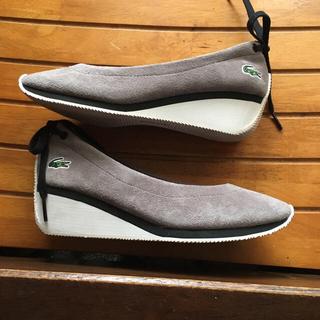 ラコステ(LACOSTE)のラコステ レディース パンプス 靴 22㎝ 美品(その他)