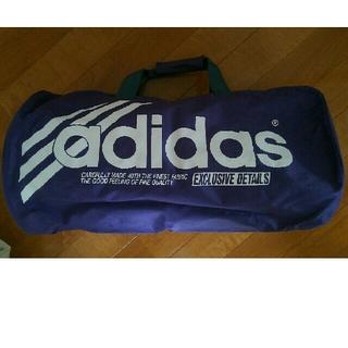 アディダス(adidas)のアディダスオリジナル ボストンバッグ パープル 大容量(ボストンバッグ)
